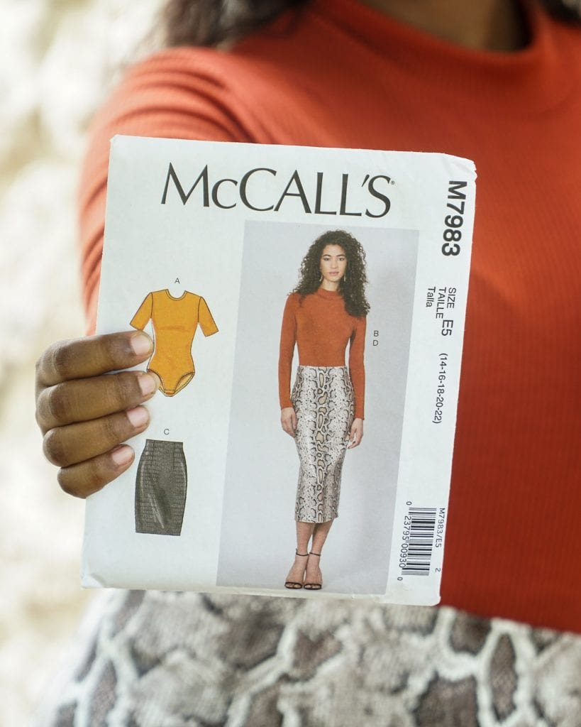 MCCALLS M7983 PATTERN REVIEW